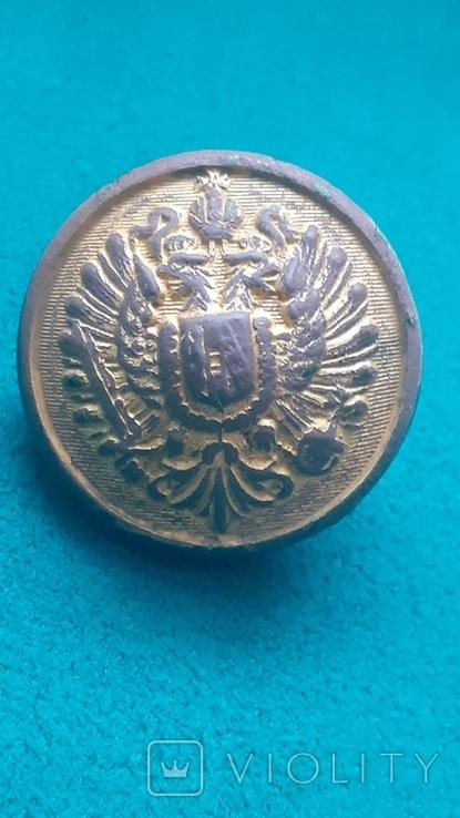 Пуговица Австро-Венгрия с орлом., фото №2