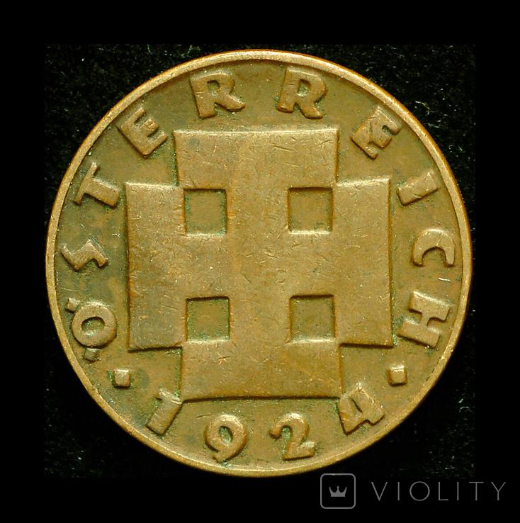 Австрия 200 шиллингов 1924, фото №3