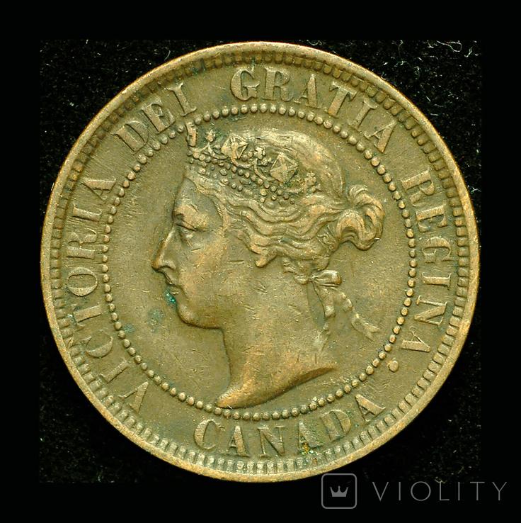 Канада 1 цент 1900, фото №2