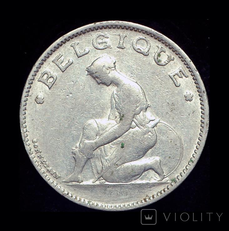 Бельгия 1 франк 1934, фото №3