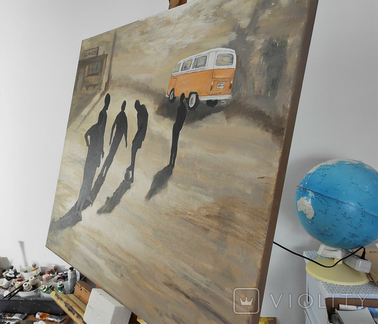 Картина масло холст дерево 70х90 И Безроднов 2021, фото №3