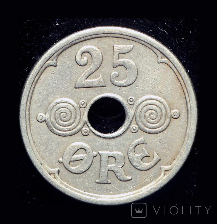 Дания 25 эре 1938, фото №3