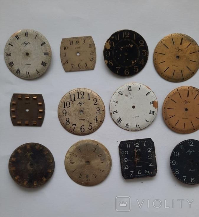 Циферблаты к часам луч, фото №3
