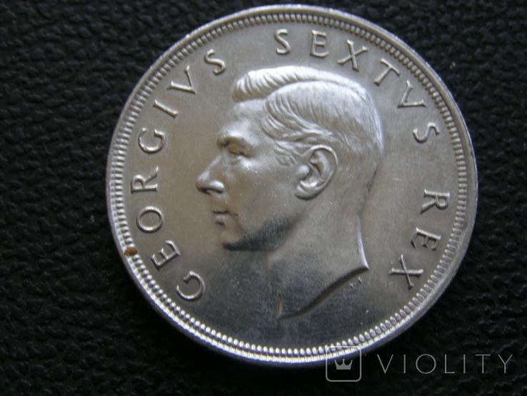 5 шиллингов 1952 г ЮАР, фото №5
