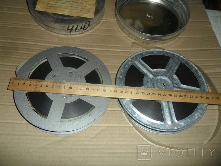 Кинопленка 2 шт Задумано В.И.Лениным 1 и 2 части, фото №3