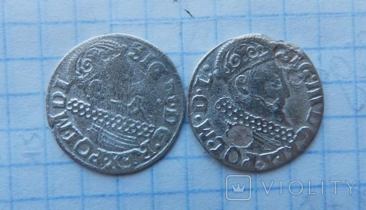 Три гроша Сигизмунда 3 ( 2 шт.), фото №2