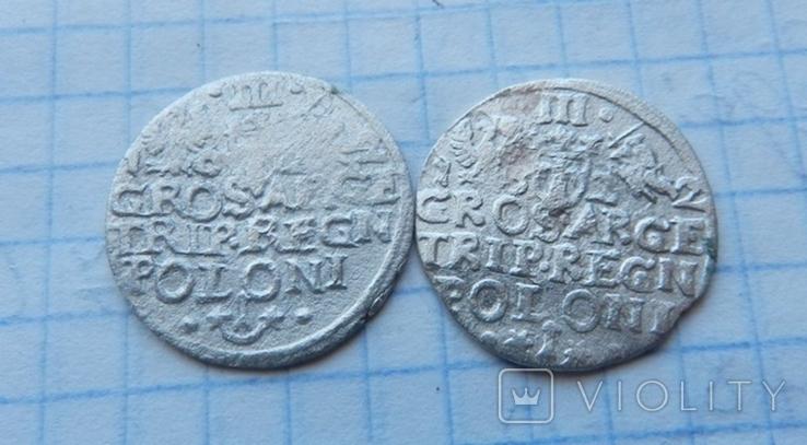 Три гроша Сигизмунда 3 ( 2 шт.), фото №5