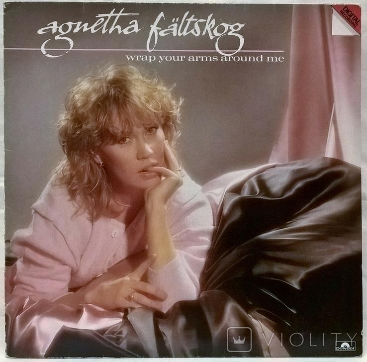 Agnetha Faltskog EX ABBA - Wrap Your Arms Around Me - 1983. Пластинка. Germany, фото №3