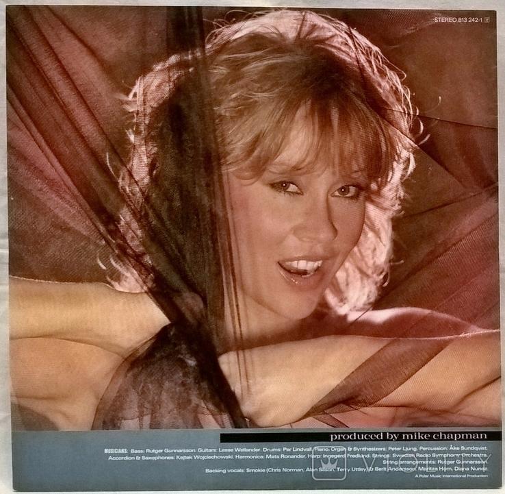 Agnetha Faltskog EX ABBA - Wrap Your Arms Around Me - 1983. Пластинка. Germany, фото №5