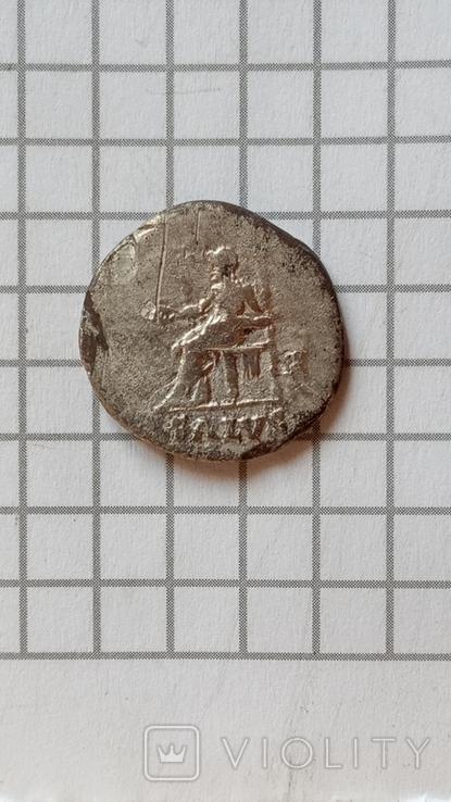 Денарій, Нерон. SALVS., фото №10