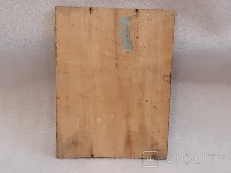 Икона Богородицы 29,5х22,5 см, фото №5