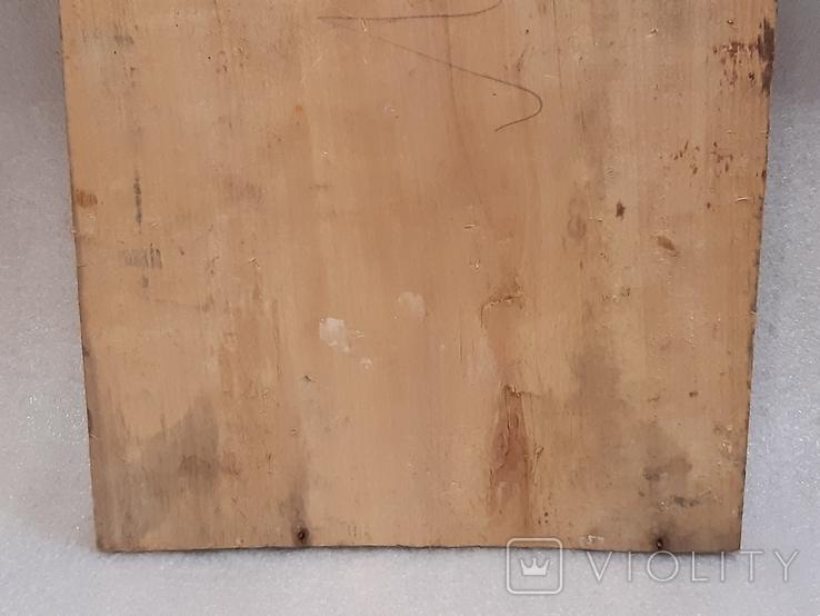 Икона Богородицы 29,5х22,5 см, фото №7