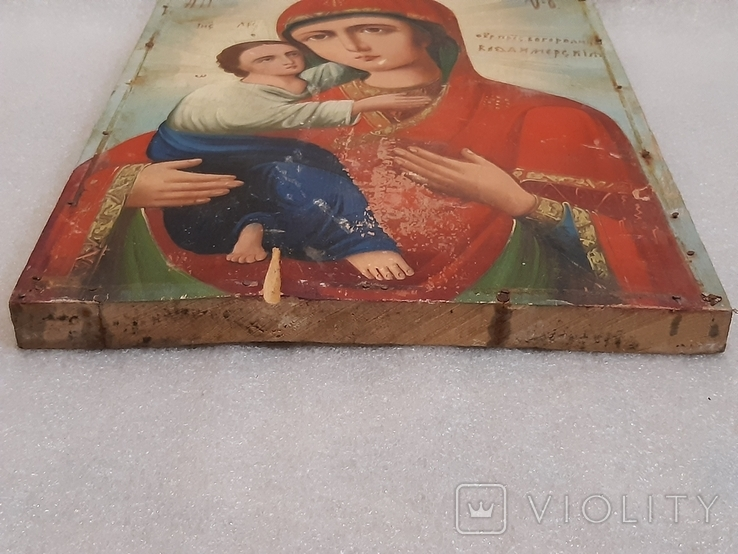 Икона Богородицы 29,5х22,5 см, фото №9