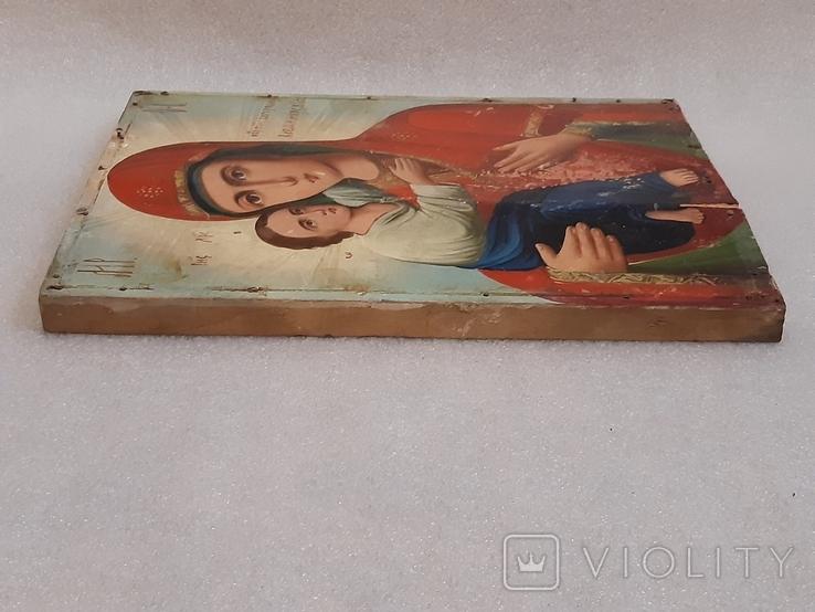 Икона Богородицы 29,5х22,5 см, фото №11