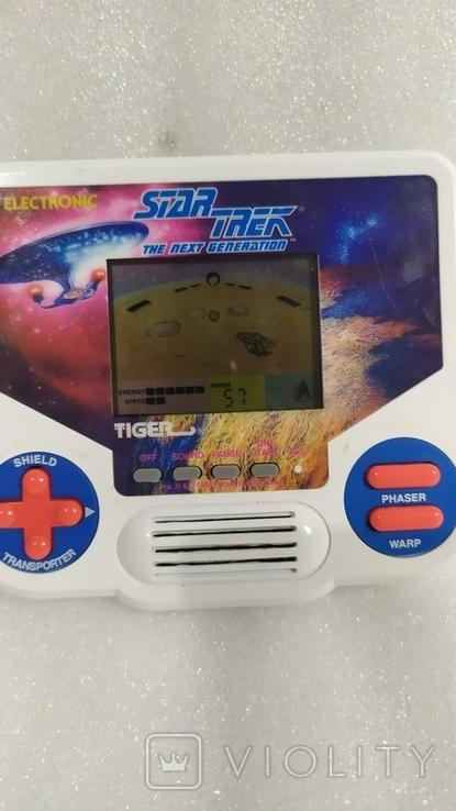 Портативная электронная игра Star Trek. Tiger 1988 год винтаж, фото №7
