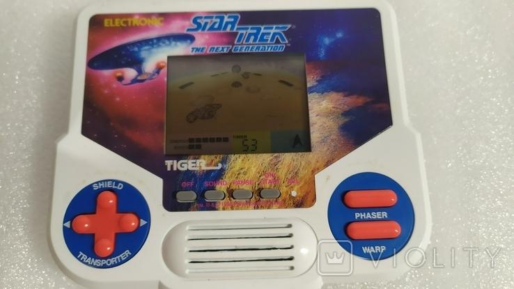 Портативная электронная игра Star Trek. Tiger 1988 год винтаж, фото №8