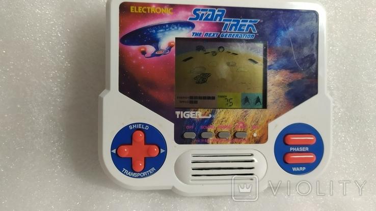 Портативная электронная игра Star Trek. Tiger 1988 год винтаж, фото №12