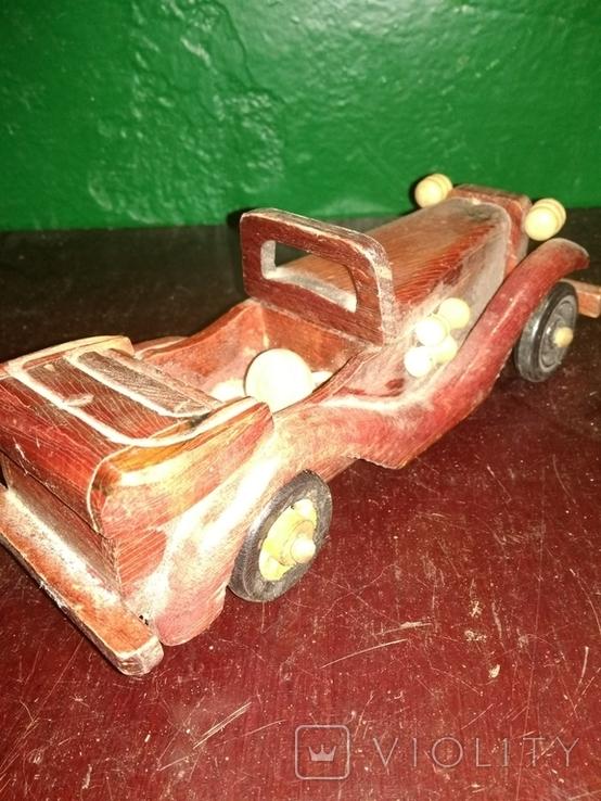 Деревянная машинка, фото №3