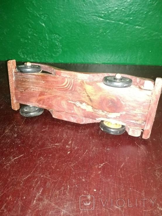 Деревянная машинка, фото №4
