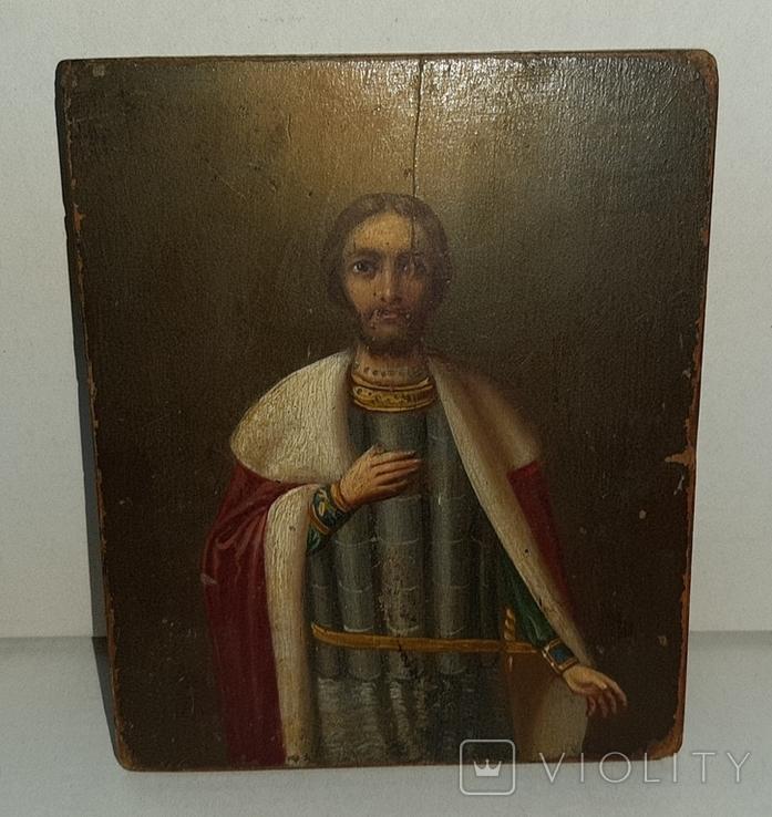 Икона Святой Благоверный князь Александр, фото №2