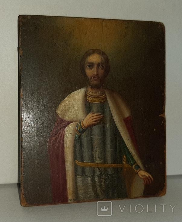Икона Святой Благоверный князь Александр, фото №4