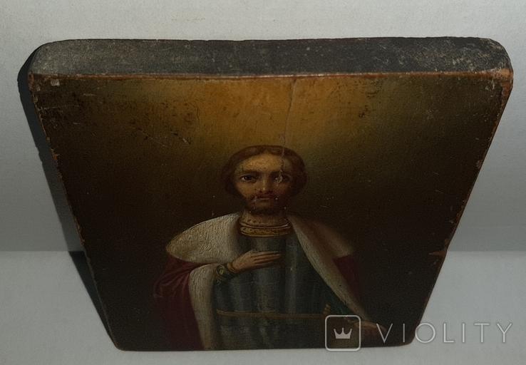 Икона Святой Благоверный князь Александр, фото №5