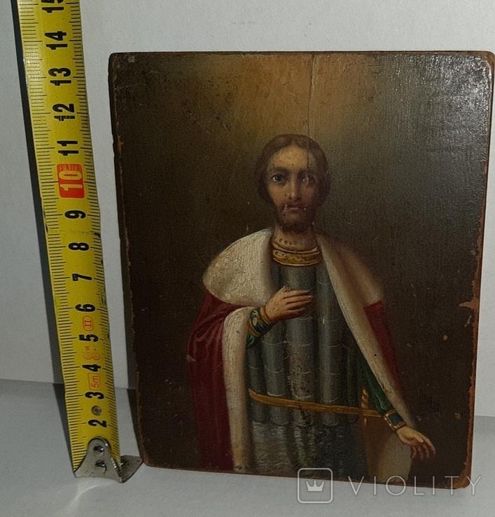 Икона Святой Благоверный князь Александр, фото №11