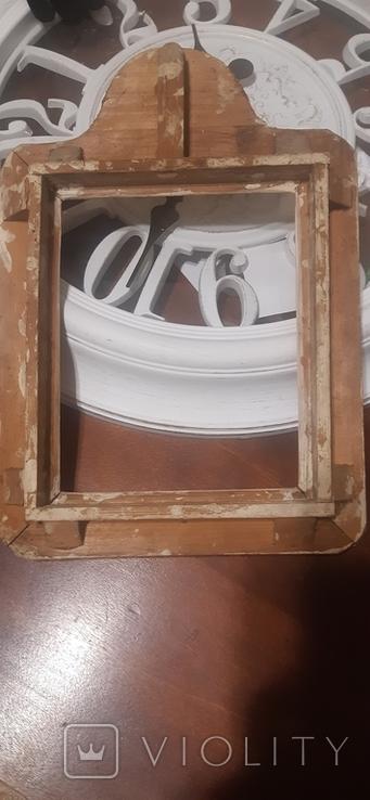 Икона в киоте св. Николай серебро позолота, фото №6