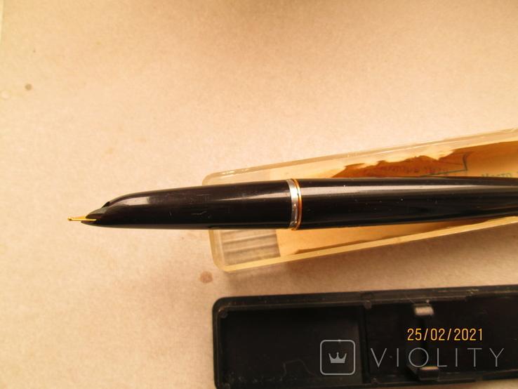 Ручка с позолоченым пером, фото №5