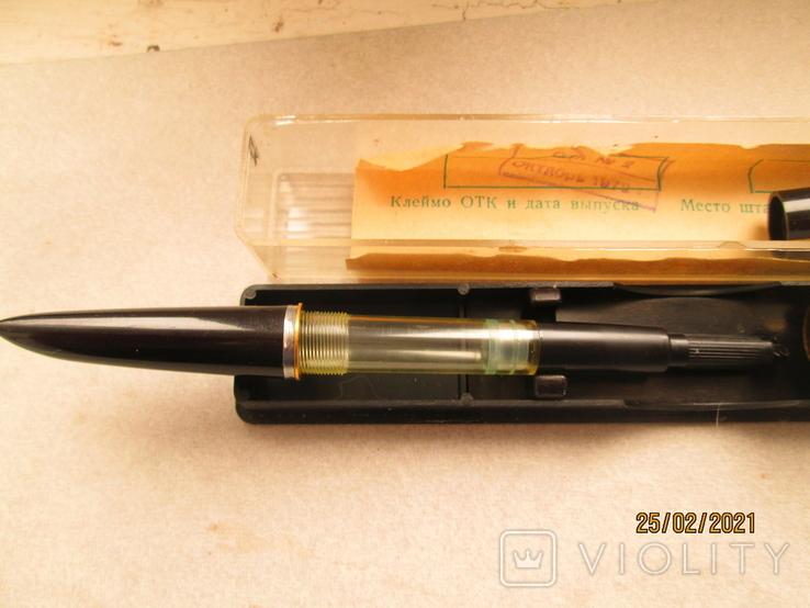 Ручка с позолоченым пером, фото №6