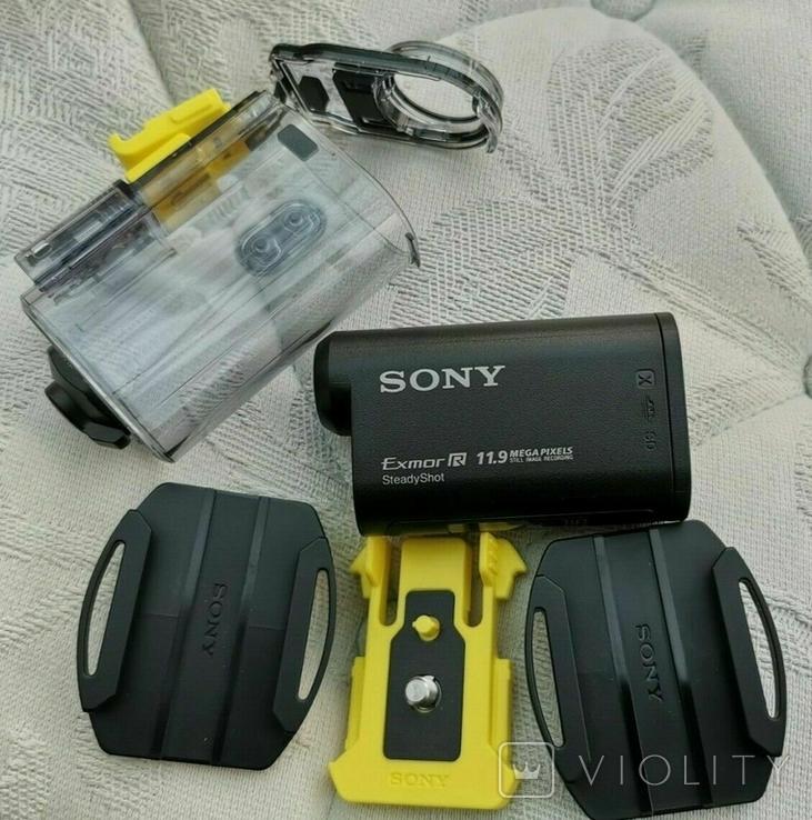 Sony HDR-AS30V WI-FI GPS камера + подводный бокс, фото №2