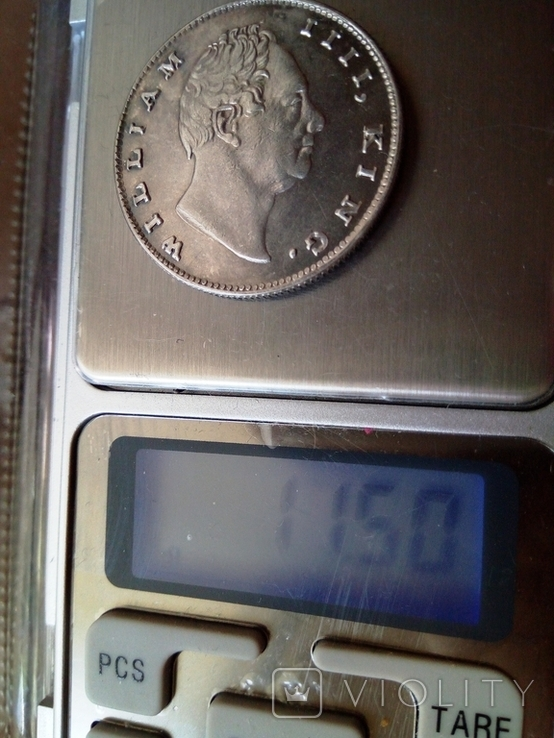 1 рупія 1835 року Індія -колонія Великої Британії, фото №6