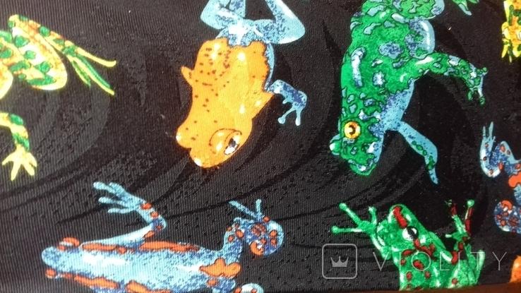 """""""лягушки"""" Галстук, фото №2"""