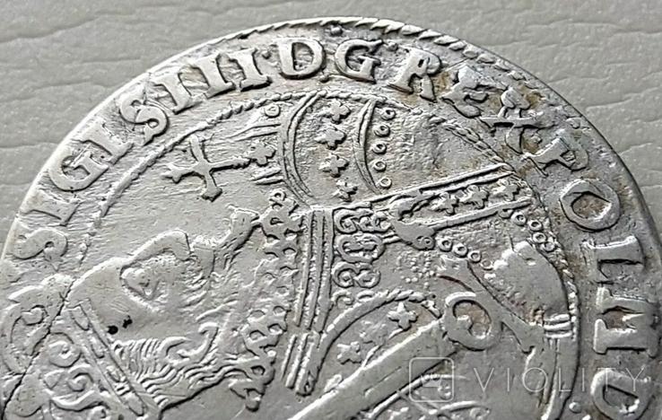Польша. Коронный Орт Сигизмунда III. 1622 год. Быгдощ. (Ор1-15), фото №5