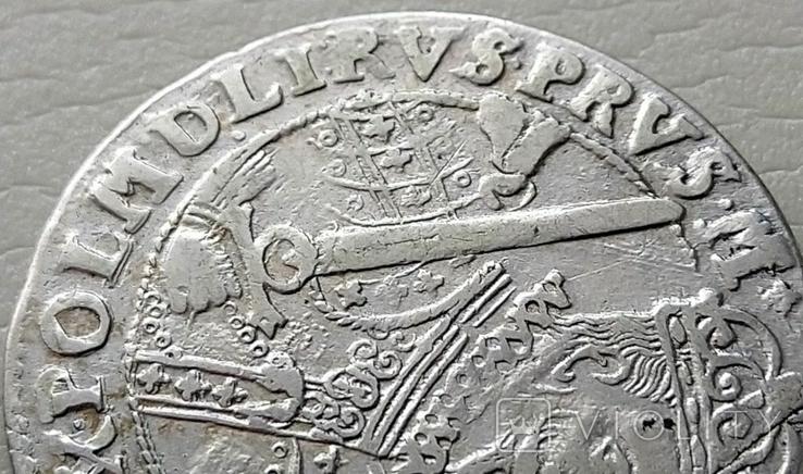 Польша. Коронный Орт Сигизмунда III. 1622 год. Быгдощ. (Ор1-15), фото №6