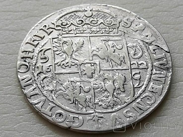 Польша. Коронный Орт Сигизмунда III. 1622 год. Быгдощ. (Ор1-15), фото №7