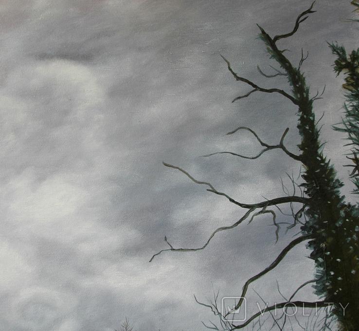 Тайна заброшенного замка. 75х90 см. Холст, масло. Алек Гросс, фото №9