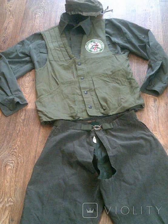 Комплект стрелковый (жилетка .рубашка, чехлы, кепи), фото №4