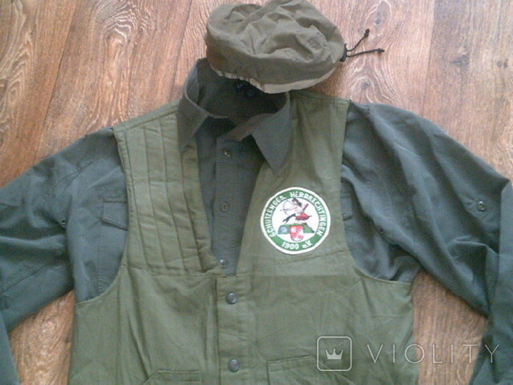 Комплект стрелковый (жилетка .рубашка, чехлы, кепи), фото №2