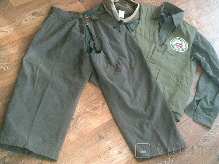 Комплект стрелковый (жилетка .рубашка, чехлы, кепи), фото №11