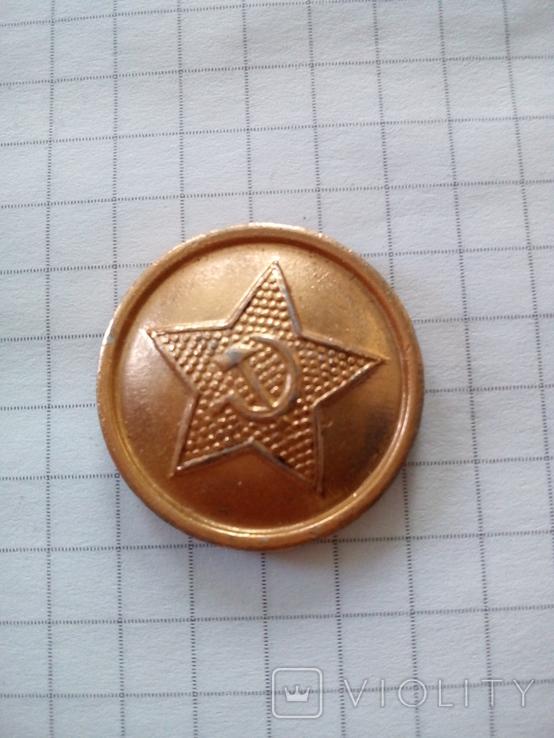 "Пуговица ""Мосштамп 83"", СССР (серп и молот в звезде), фото №3"