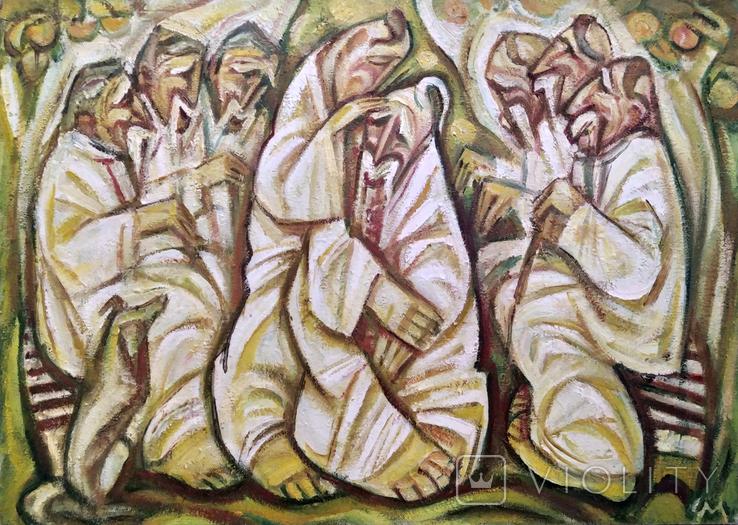 Чорний М.Н., Під оселедиць, 2007, 66x45, фото №2