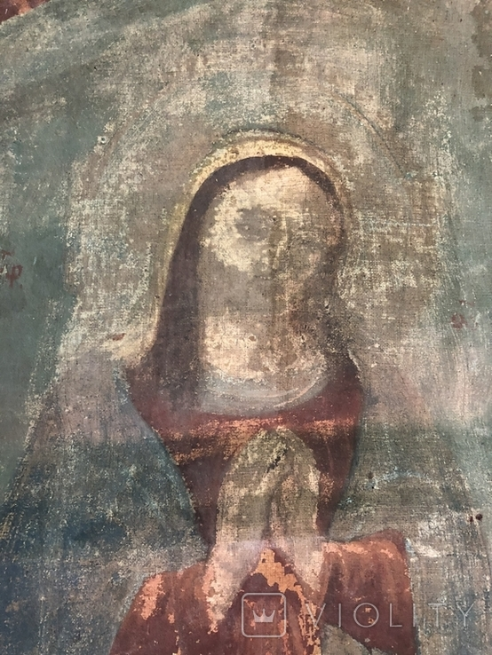 Икона на холсте 2, фото №3
