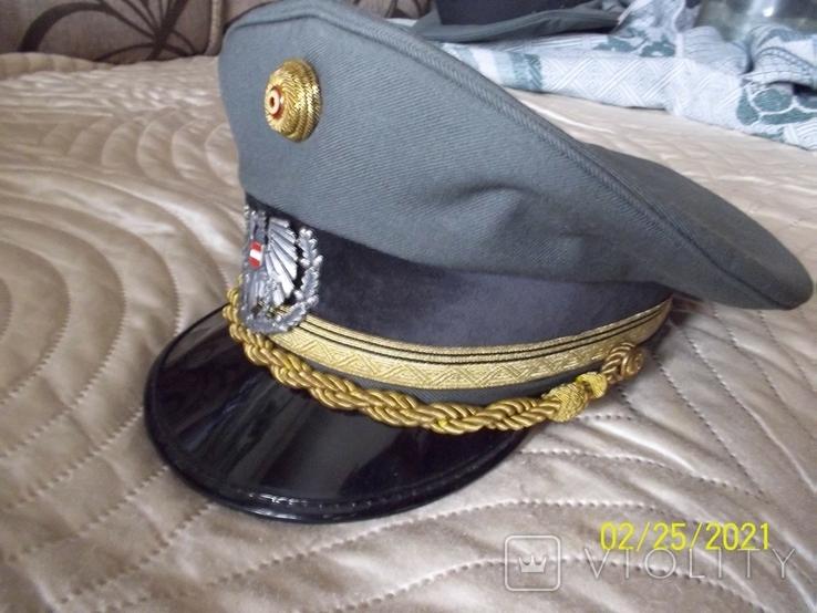 Фуражка генерала австрийская армия. раз. 56., фото №7