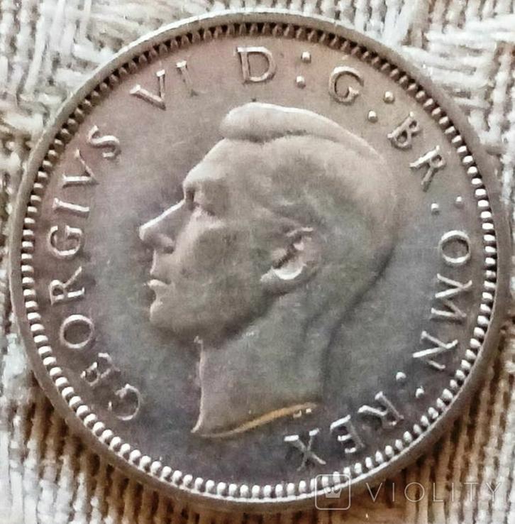 6 пенсів 1938 року Велика Британія, фото №3