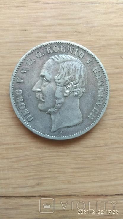 1 талер 1855 р., фото №2