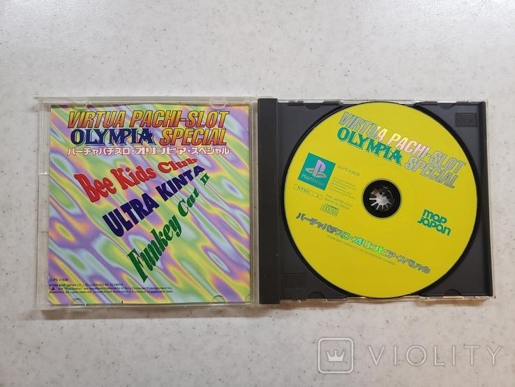 Virtua Pachi-Slot Olympia Special (NTSC-J, PS1), фото №4