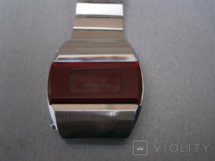 Часы Электроника -1 Пульсар Паспорт коробка, фото №4