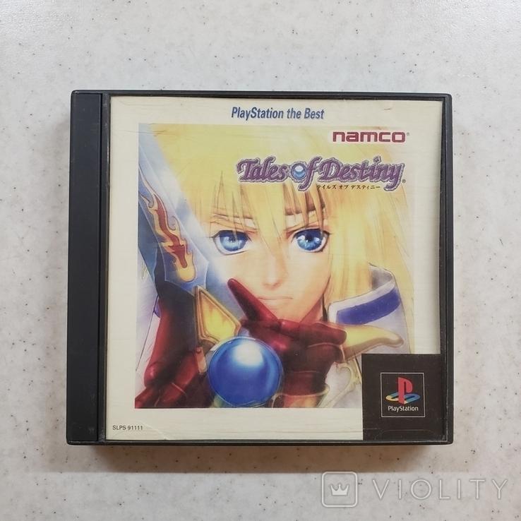 Tales of Destiny (PS1, NTSC-J) Namco, +OBI, фото №2