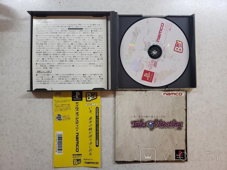 Tales of Destiny (PS1, NTSC-J) Namco, +OBI, фото №4